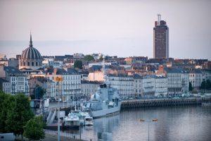 Nantes panorama